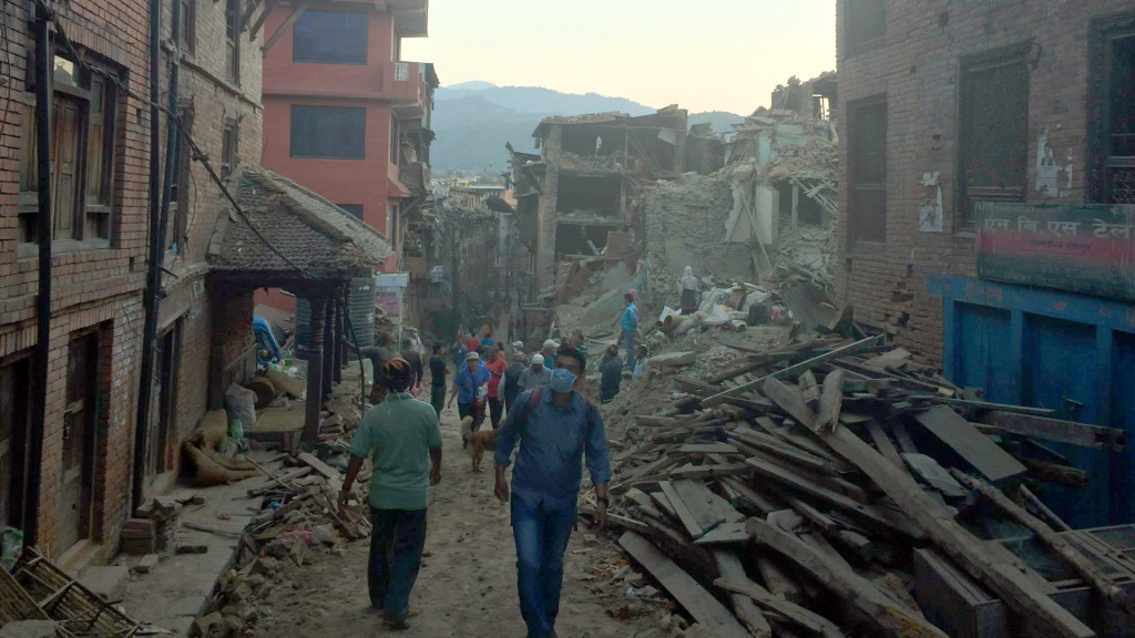 After Earthquakes, Matt Hamilton Goes to Nepal with IDRN