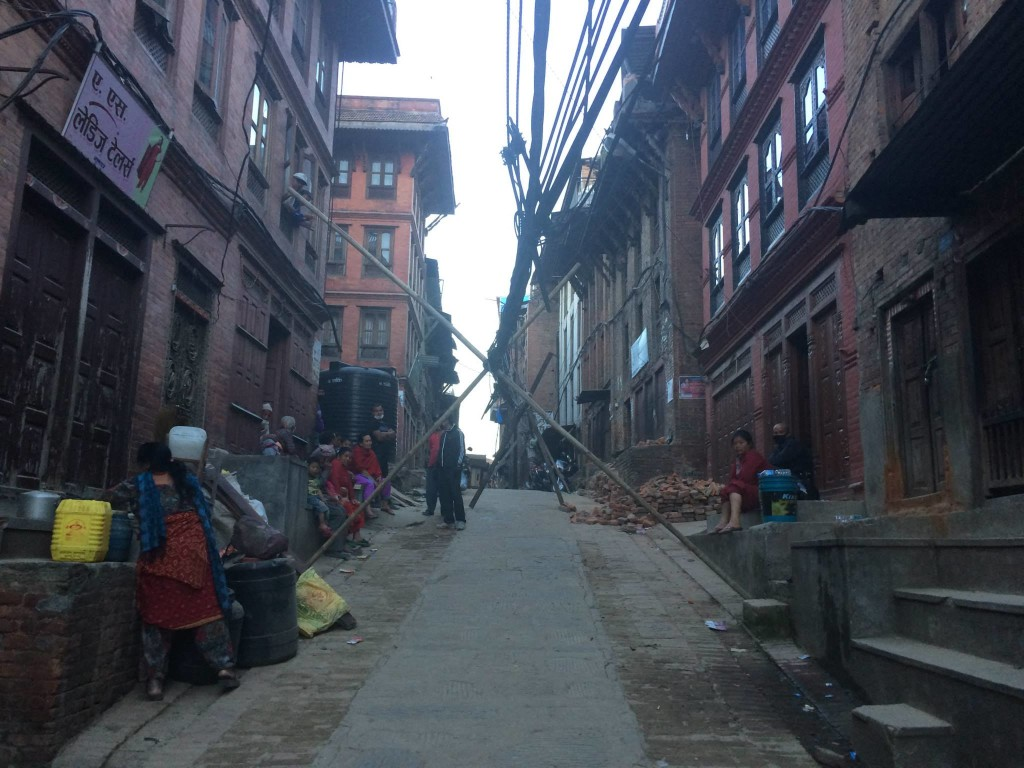 5. Bhaktapur lines off ground