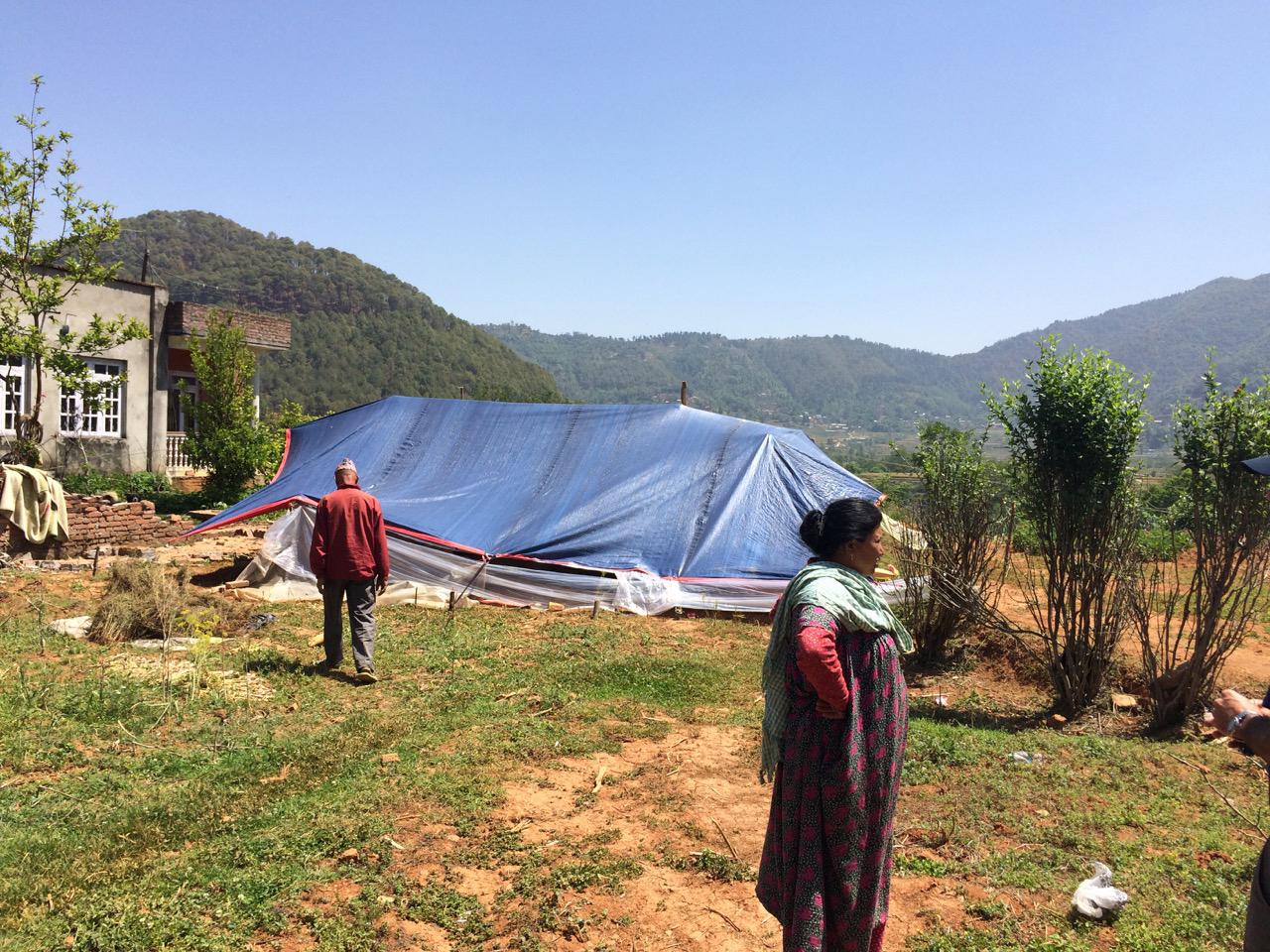 Nepal Damage from Earthquake