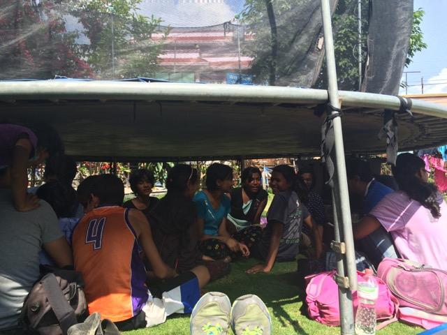 Nepal-Under-Trampoline