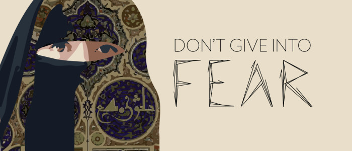 Don't Give Into Fear