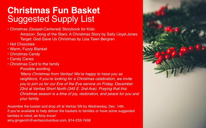 Christmas Fun Basket
