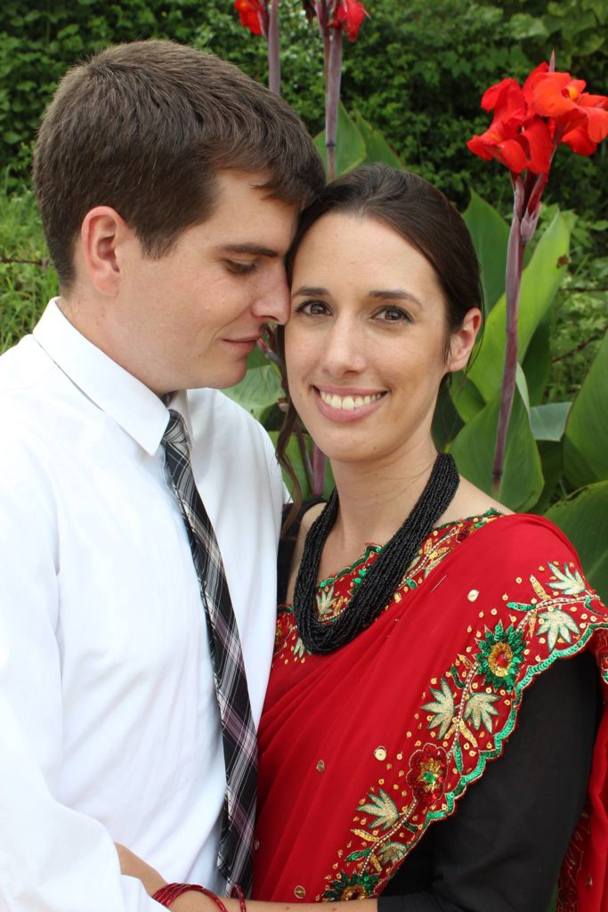 Mark and Christine Ferch Meet in Nepal; Return to Columbus to Get Married